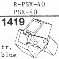 A.D.C. R-PSX-40  Stylus, ORIGINAL