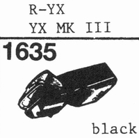A.D.C. R-YX(FOR YX-MK III) Stylus<br />Price per piece