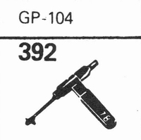 ACOS GP-104 Stylus, sapphire normal (78rpm) + sapphire stere