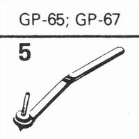 ACOS GP-65, GP-67 78-RPM Stylus, Diamond, normal (78rpm)
