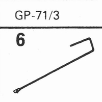 ACOS GP-71/3 Stylus, diamond, stereo