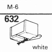 ACOS M-6 WHITE Stylus, diamond, stereo