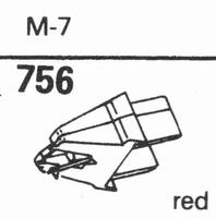 ACOS M-7 Stylus, diamond, stereo