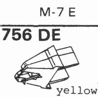 ACOS M-7 E Stylus, diamond, elliptical
