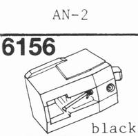 AIWA AN-2 Stylus, diamond, stereo