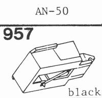 AIWA AN-50 ELLIPTICAL Stylus, diamond, elliptical