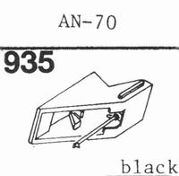 AIWA AN-70 Stylus, diamond, stereo