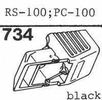 AKAI PC-100, RS-100 Stylus, diamond, stereo