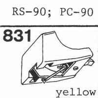 AKAI PC-90, RS-90 Stylus, diamond, stereo