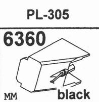 AKAI PL-305 Stylus, diamond, stereo