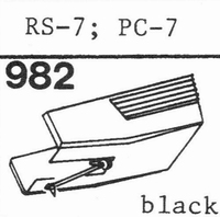 AKAI RS-7, PC-7 ZWART Stylus, DS