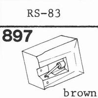 AKAI RS-83 Stylus, diamond, stereo