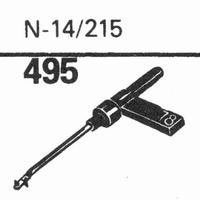 ASTATIC N-14, 215 Stylus, sapphire stereo + diamond stereo