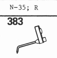 ASTATIC N-35, 'R' Stylus, diamond, stereo