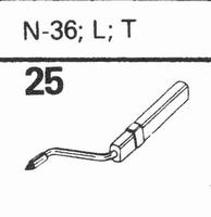 ASTATIC N-36, L, T Stylus, diamond, stereo