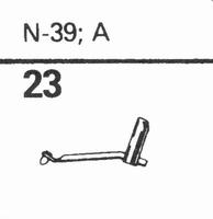 ASTATIC N-39, A Stylus, diamond, stereo