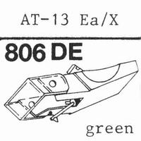 AUDIO TECHNICA AT-13 EA/X Stylus, diamond, stereo