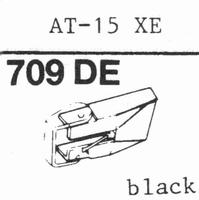 AUDIO TECHNICA AT-15xE Stylus, diamond, elliptical