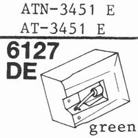 AUDIO TECHNICA AT-95E AT-3451E Stylus, diamond, elliptical,