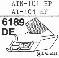 AUDIO TECHNICA ATN-101 EP Stylus, diamond, elliptical