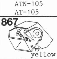 AUDIO TECHNICA ATN-105 Stylus, diamond, stereo