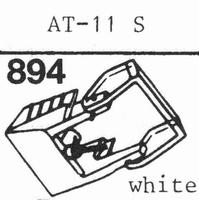 AUDIO TECHNICA ATN-11 S, Stylus, diamond, stereo, original