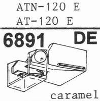 AUDIO TECHNICA ATN-120 E Stylus, diamond, elliptical ,ORIGIN