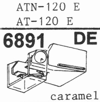 AUDIO TECHNICA ATN-120 E Stylus, DE ,ORIGINAL