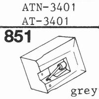 AUDIO TECHNICA ATN-3401 Stylus, diamond, stereo, original