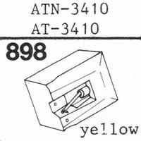 AUDIO TECHNICA ATN-3410 Stylus, diamond, stereo