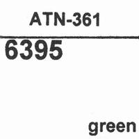 AUDIO TECHNICA ATN-361 GREEN Stylus, diamond, stereo