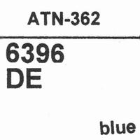 AUDIO TECHNICA ATN-362 BLUE Stylus, diamond, elliptical
