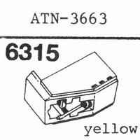 AUDIO TECHNICA ATN-3663 Stylus, diamond, stereo, original