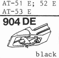 AUDIO TECHNICA ATN-51 E Stylus, diamond, elliptical