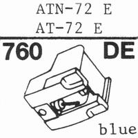 AUDIO TECHNICA ATN-72 E Stylus, diamond, elliptical