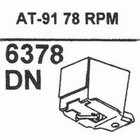 AUDIO TECHNICA ATN-91 78-RPM Stylus, Diamond, normal (78rpm)