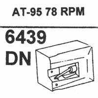 AUDIO TECHNICA ATN-95 78 RPM Stylus, Diamond, normal (78rpm)