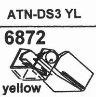 AUDIO TECHNICA ATN-DS 3 YL Stylus