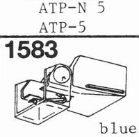 AUDIO TECHNICA ATP N-5 Stylus, diamond, elliptical, original