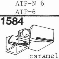 AUDIO TECHNICA ATP N-6 Stylus, diamond, elliptical, original