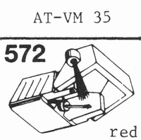 AUDIO TECHNICA AT-VM 35 E Stylus, diamond, elliptical