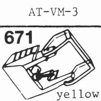 AUDIO TECHNICA AT-VM3 Stylus, diamond, stereo