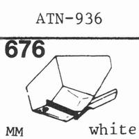 AUDIO TECHNICA CN-933, CN-936 Stylus, diamond, stereo