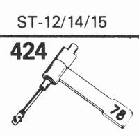 B.S.R. ST-12/14/15 Stylus, sapphire normal (78rpm) + sapphir