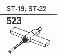 B.S.R. ST-19 D Stylus, diamond, stereo