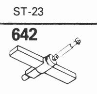 B.S.R. ST-23 Stylus, diamond, stereo