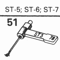 B.S.R. ST-5, ST-6 Stylus, SN/DS<br />Price per piece