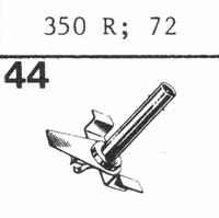 BANG & OLUFSEN 350 R, 72 Stylus, sapphire normal (78rpm) + s