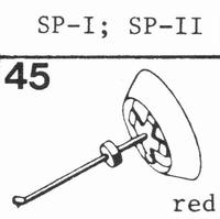 BANG & OLUFSEN SP-1, SP-2 Stylus, diamond, elliptical