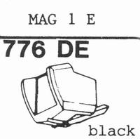 BRAUN MAG 1 E Stylus, diamond, elliptical
